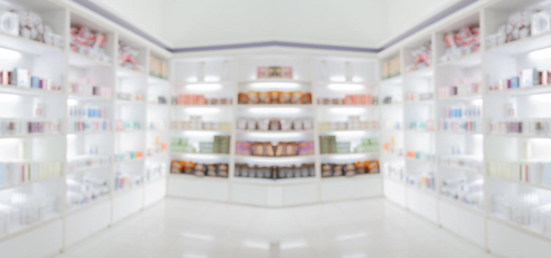 inside a pharmacy