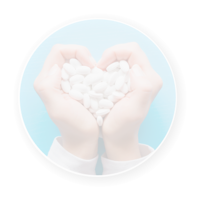 a handful of medicine