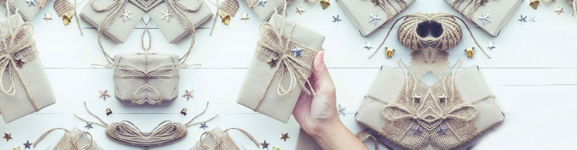 a hand holding a gift