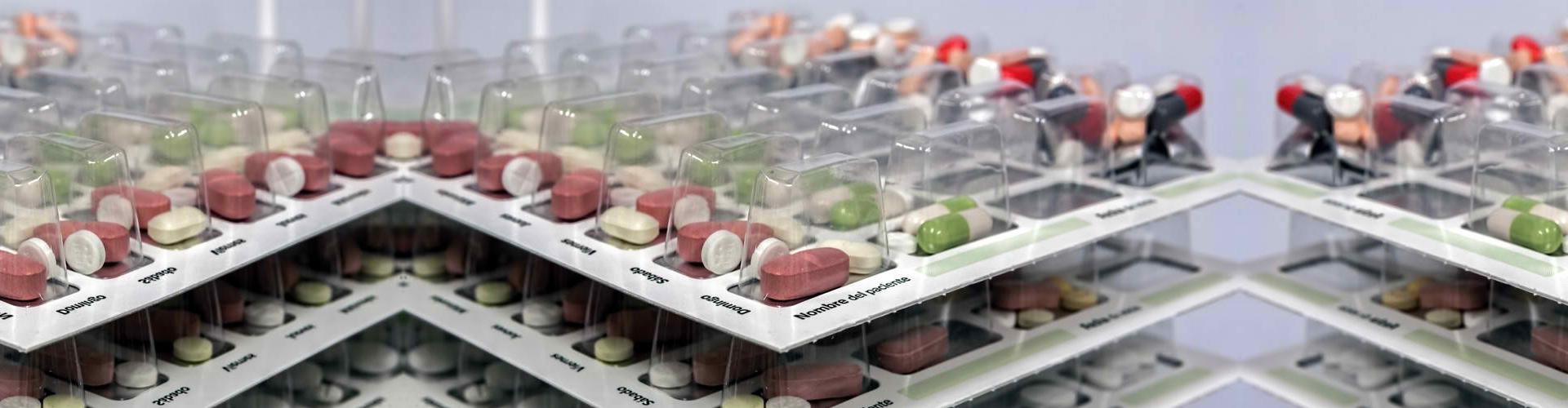 a multi-dose packaging for dispensing medications easier