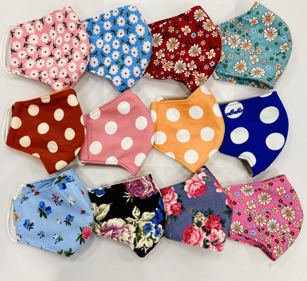 High Quality Cloth Face Masks- Comfortable, Reusable, Adult 1PC